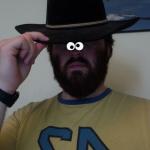 Hat +Tiny Eyes