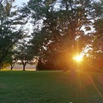 Sunset in Indiana